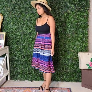 Old navy colorful stripe skirt
